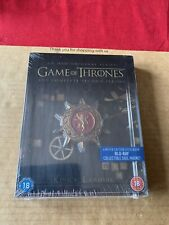 Game of Thrones Season 2 Blu Ray Steelbook With Sigil Magnet NEW & SEALED Rare!