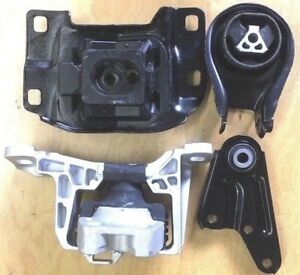 4PC MOTOR  MOUNT FOR 2010-2011-2012 2013 MAZDA 3 2.0L AUTO FAST FREE SHIPPING