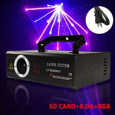 Rgb Animation Laser Projector Light Dmx Ilda Dj Party Club Stage Show Lighting