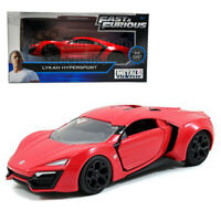 Jada Fast & Furious 1:32 Diecast Lykan Hypersport Car Red Model Collection New