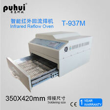 Puhui T937M INFRARED reflow oven solder IC HEATER 2300W T-937M lead-free s