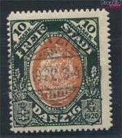 Danzig 62 geprüft m. Durchstich gestempelt 1921 Kogge (6806572
