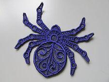 Negro Bordado Araña Apliques sewing/costume/crafts / Victoriano (cualquier Color)