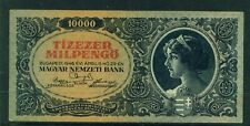 HUNGARY - 1946 10,000 Pengo Circulated Banknote