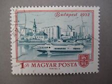Vintage collectible stamp, Budapest 1972, Hungarian stamp, MAGYAR POSTA