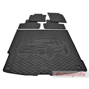 Performance Fußmatten für VOLVO XC60 II T6 R-Design ab Bj.2017 Velours Logo