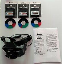 Rare VECTREX 3D IMAGER Bundle: Imager, Crazy Coaster, Narrow Escape, Mine Storm!