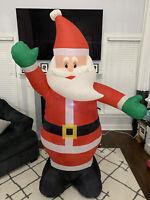 Gemmy Airblown Inflatable Waving Santa Clause 6 Ft Christmas Yard Decor