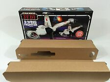 brand new star wars rotj b-wing box and inserts