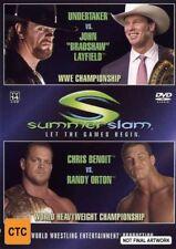 WWE - Summerslam 2004 (DVD, 2004) VGC - FREE POST!!