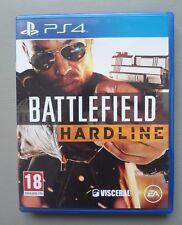 Jeu PS4 BATTLEFIELD HARDLINE