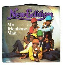 "MINT / NEW EDITION Mr. Telephone Man INSTRUMENTAL 1984 MCA Records 45 7"" record"