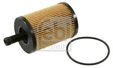FEBI BILSTEIN Ölfilter 22546 Filtereinsatz für VW AUDI SEAT GOLF A3 A4 CADDY A5