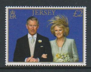 Jersey - 2006, Prince Charles & Duchess of Cornwall stamp - MNH - SG 1271