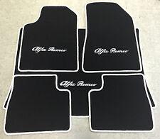 Autoteppich Fußmattenn Kofferraummatte für Alfa Romeo Giulietta 5teilg weiss Neu