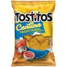 Frito Lay, Tostitos Cantina Traditional Tortilla Chips, 12oz Bag (Pack of 3)