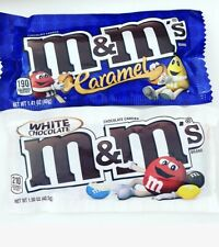 Caramel M&Ms & White chocolate M&Ms American Candy US Import