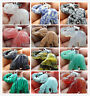Natural Hand-carved Elephant Mixed agate gem Pendant Jewelry making necklace