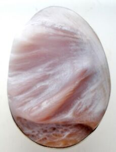 JAY KING PINK SHELL RING STERLING SILVER DTR MINE FINDS Size 7 GEMSTONE