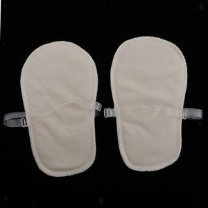 1 Pair Washable Adjustable Underarm Armpit Sweat Absorbing Pad for Women Men
