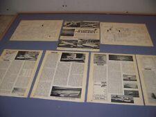 VINTAGE..GRUMMAN G-44 WIDGEON R-C PLANS..PLANS/DETAILS...RARE! (552L)