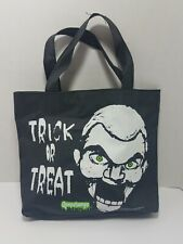 Goosebumps Vtg Slappy The Dummy Collectible Black Bag Trick or Treat Candy Rare