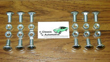 Bumper Bolts 24pc Kit Front+Rear Chevelle Nova Lemans Cutlass