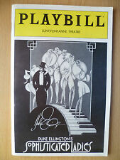 PLAYBILL LUNT FONTANNE THEATRE PROGRAMME 1982- SOPHISTICATED LADIES