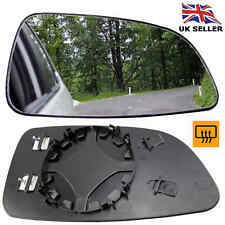 VAUXHALL ASTRA H MK5 2004-08 WING MIRROR GLASS HEATED RIGHT DRIVER OFFSIDE CLIP