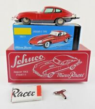 Schuco Micro Racer 1047/1 Jaguar XKE E-Type Red Wind Up New in Box