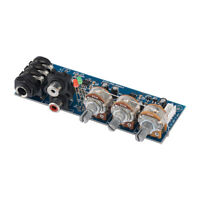 Preamp Amplifier Board Mono Two Road EQ Tweeter Bass Adjustment Preamplifier DIY