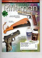 American Rifleman Magazine NRA Dec 2007 Kimber Pro Covert 2 .45 ACP Colt