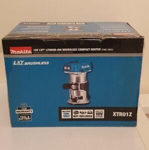 """Makita  Cordless XTR01Z/DRT50ZJ 18V Brushless 1/4"""" Router/Trimmer **NEW**"""