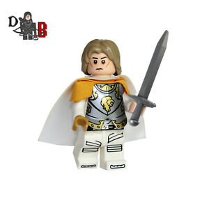 Game of Thrones Jaime Lannister Minifigure. Made using LEGO & custom parts.