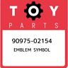 90975-02154 Toyota Emblem symbol 9097502154, New Genuine OEM Part