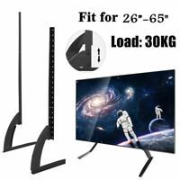 """Modern Tabletop TV Stand Universal Base Replacement for 26-65"""" LED Flat Screens"""