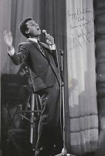 Kenny Lynch Hand Signed 12x8 Photo.
