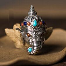 Pikanet Ganesha Elephant Pendant Buddhist Prayer Jewelry Amulet Hindu Thailand