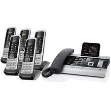 Gigaset DX600A ISDN Mini-Telefonanlage incl. 5x Mobilteil C430H, Faxanschluss