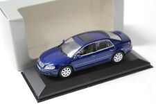 1:43 Minichamps VW Phaeton Limousine blue DEALER NEW bei PREMIUM-MODELCARS