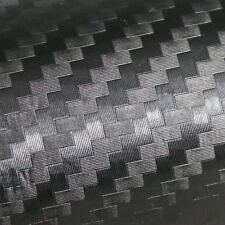 1m X 1m CARBONE 3D Adhésif Sticker vinyl autocollant Déco Mur Design