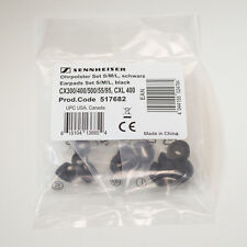 Sennheiser ear tip set Small-Medium-Large - 4 of each - Black - (517682)