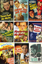 MR. MOTO FILMS COLLECTION Starring Peter Lorre and Henry Silva