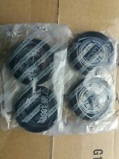 lancia delta integrale evolution evo wheel centres brand new genuine full set