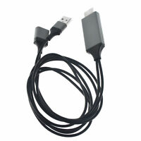 Universal Type-C to TV 1080p HDMI HDTV AV Adapter Cable for Cell Phone Tablets