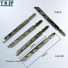 TASP 5PC 100mm Diamond Jig Saw Blades Power Tool Accessories for Granite Cutting