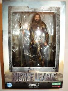 DC Comics - Justice League - Aquaman 1/10 Scale ARTFX+ Kotobukiya Statue MIMB