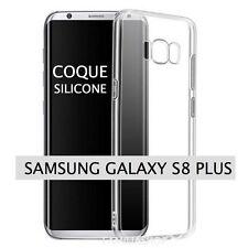 Housse coque transparente gel silicone souple samsung galaxy S8 plus
