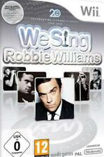 Nintendo Wii We Sing Robbie Williams OVP come nuovo