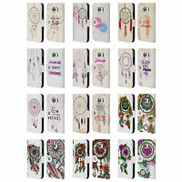 HEAD CASE DESIGNS DREAMCATCHERS LEATHER BOOK WALLET CASE FOR SAMSUNG PHONES 1